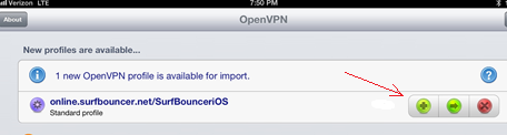 setup openvpn in iPhone/iPad, step 2